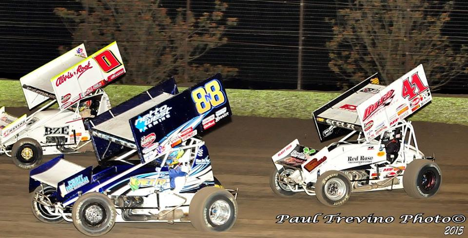 King of the West and California drivers/teams set to tackle The 2nd Annual Winter Heat Sprint Car Showdown at Cocopah Speedway