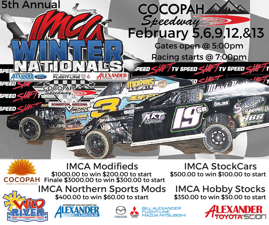 5th Annual IMCA Winter Nationals kicks off tonight