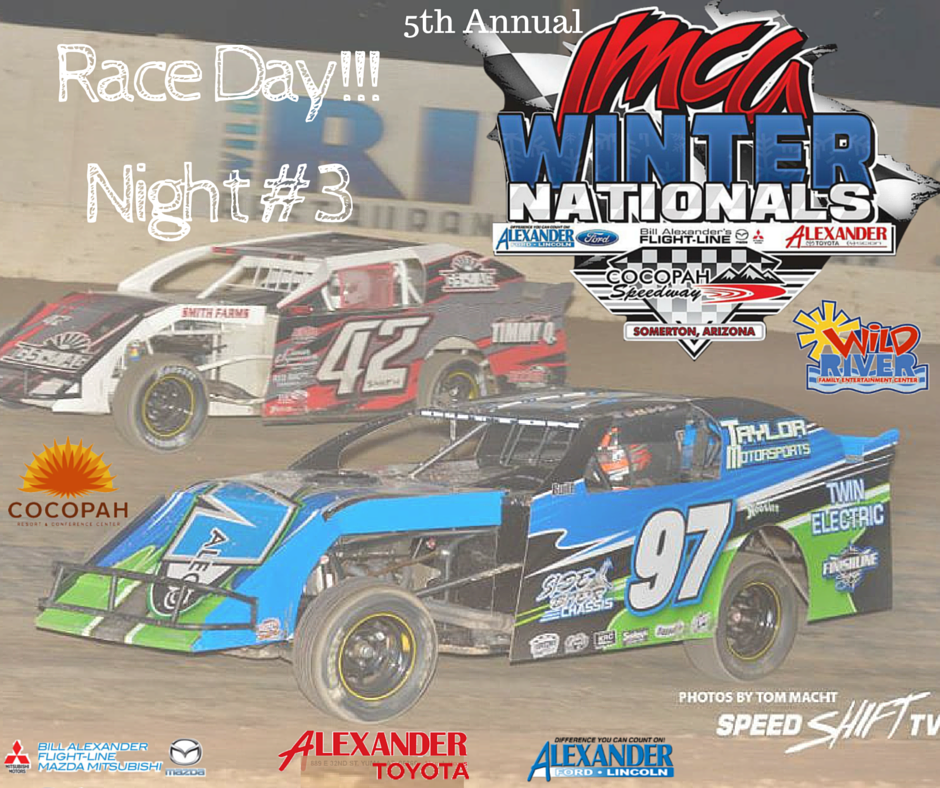 IMCA Winter Nationals continues tonight with Night #3