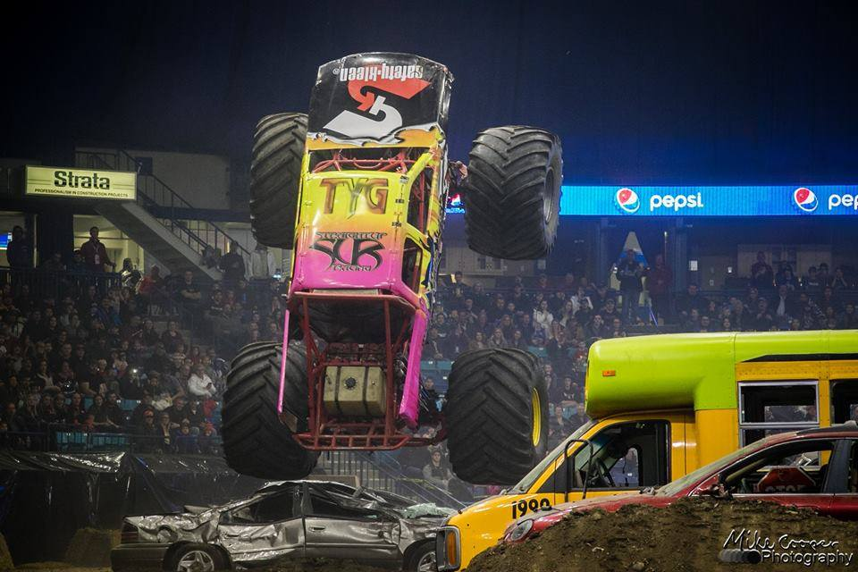 Monster Truck Madness starts Thursday with meet & greet at Wild River