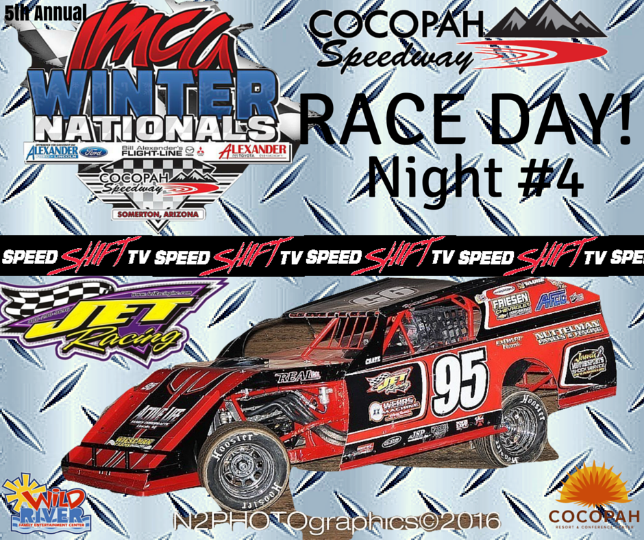 Racing returns to The Diamond in the Desert with night #4
