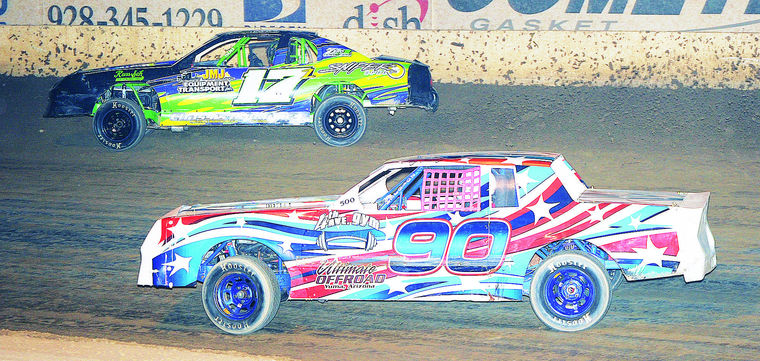 No sticker shock here: Essary drives off with win in Cocopah Speedway series Saturday