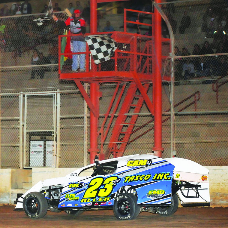Allen picks up 3rd straight Cocopah Speedway Racing Series win