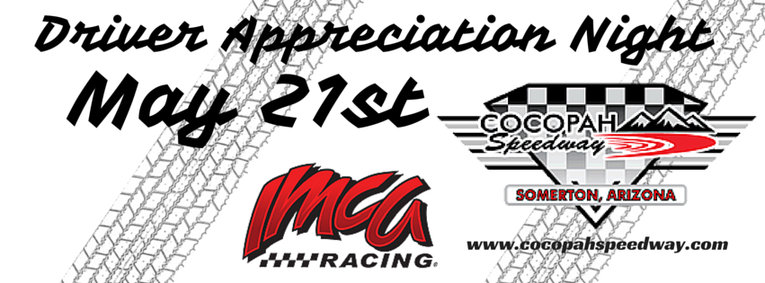Driver Appreciation Night at the Cocopah Speedway