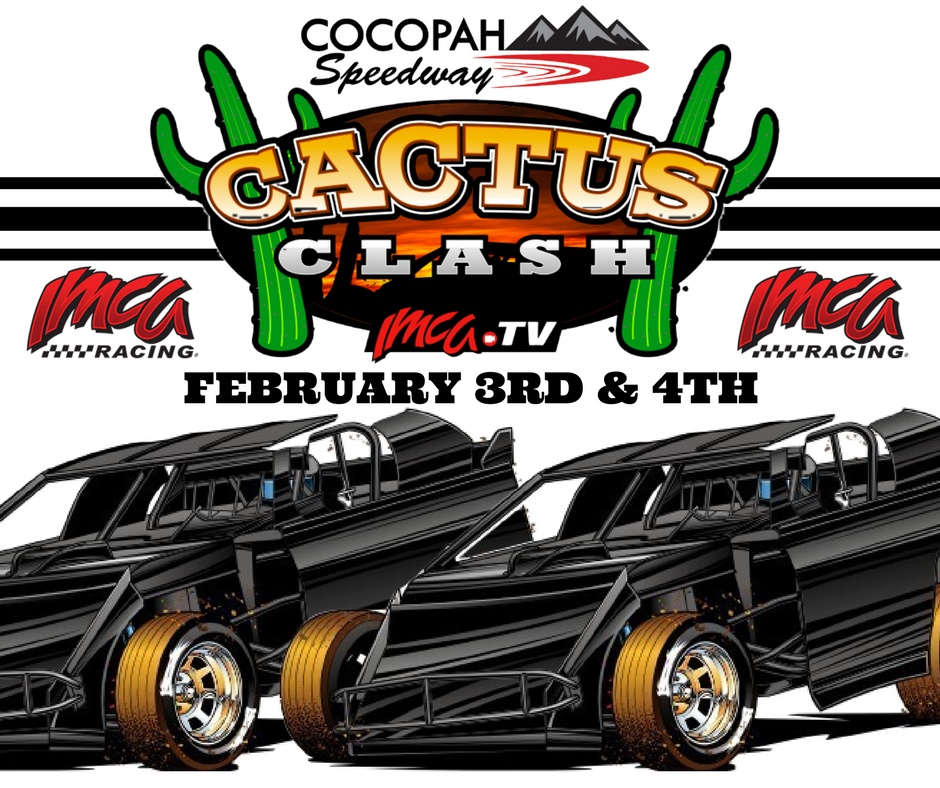 Four IMCA divisions featured at Cocopah's Cactus Clash this weekend