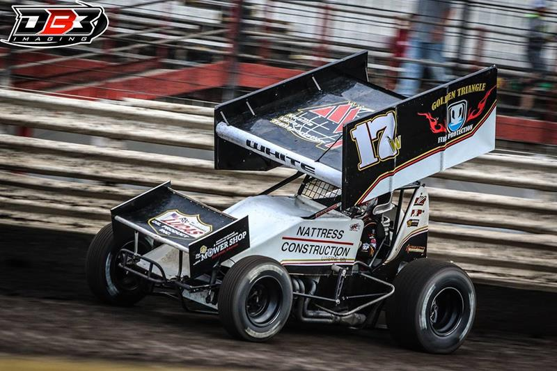 White Wrapping Up First Season on Lucas Oil ASCS National Tour This Weekend
