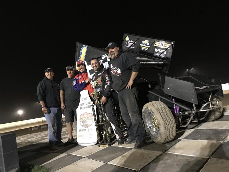 Travis Rilat Triumphant On Night 1 Of Lucas Oil ASCS Cocopah Nationals