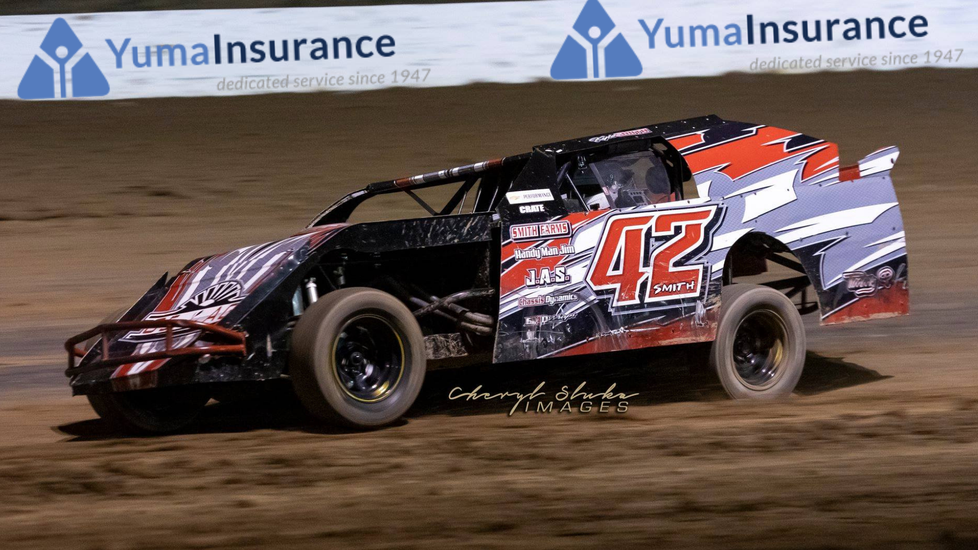 Yuma Insurance IMCA Sport Mods Points thru 4/20/19