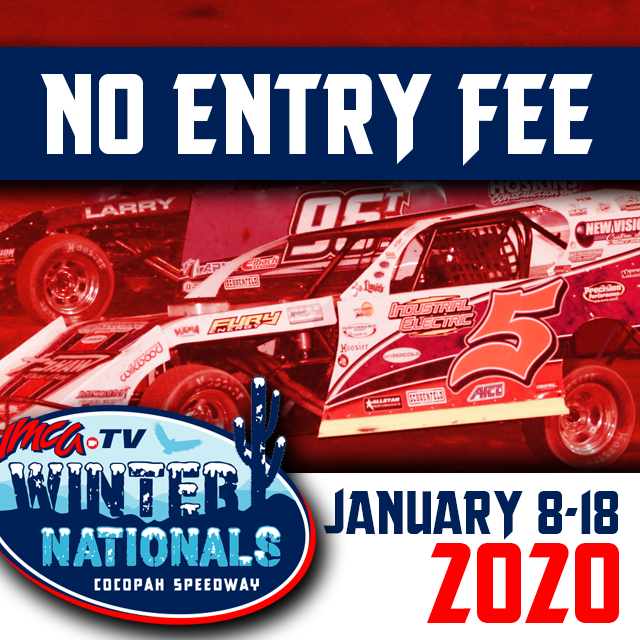 Start saving money early in 2020 with No Entry Fees for The IMCATV Winter Nationals