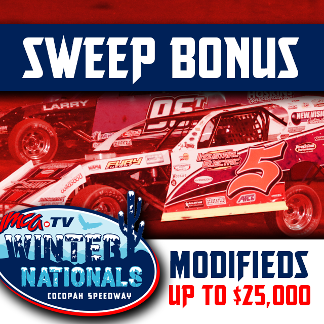 $25,000 Sweep Bonus added to already exciting 2020 IMCATV Winter Nationals