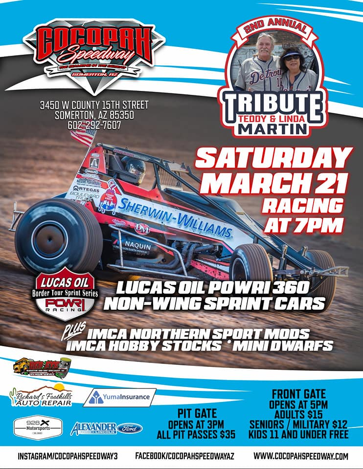 Racing still a go at The Diamond in the Desert with the return of non-wing sprint car racing
