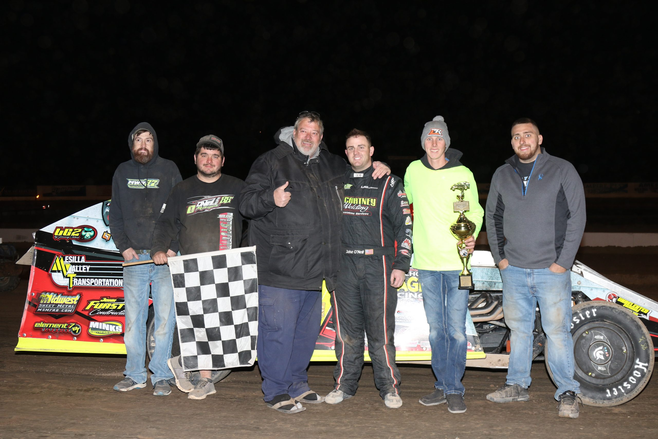 O'Neil claims third Winter Nationals triumph at Cocopah Speedway