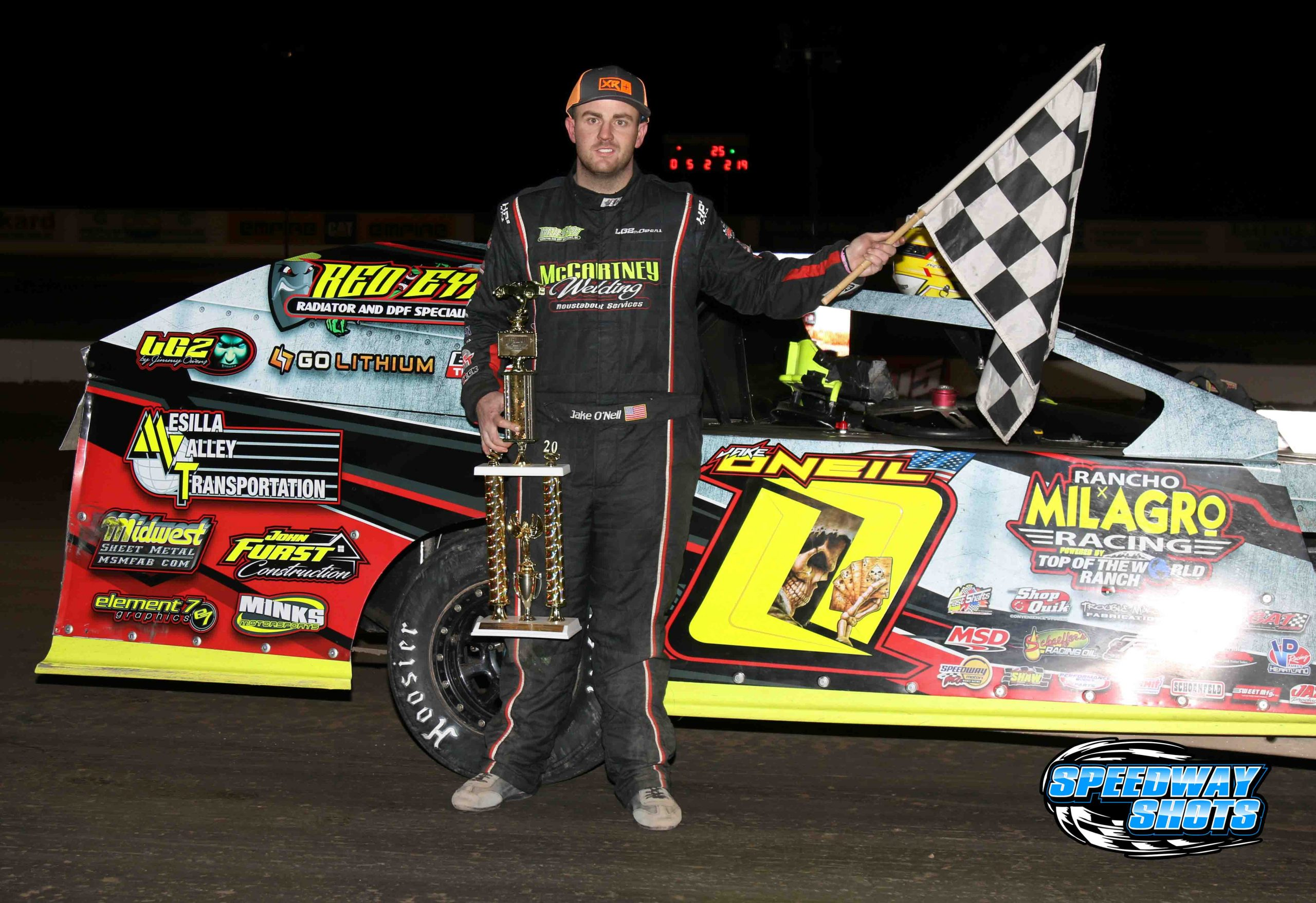 All O'Neil on Night Three of Winter Nationals