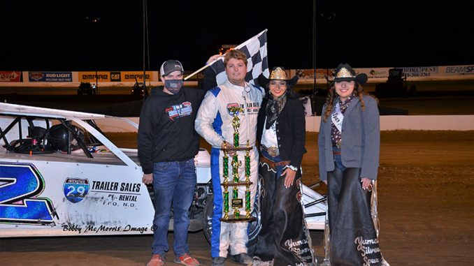 Arneson dominates IMCA Modifieds at Cocopah, Knutson captures 3rd straight Winter Nationals win