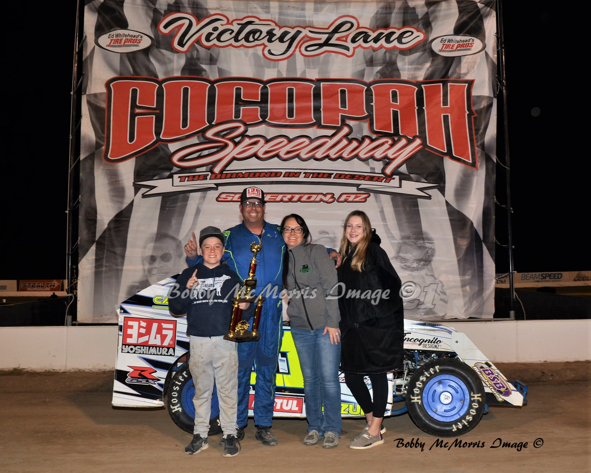 Forster Doubles Up At Cocopah; Ward And West Also Winners