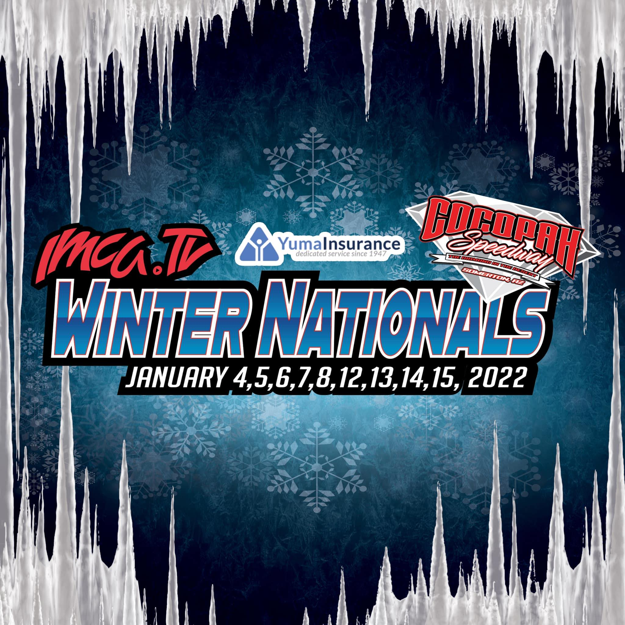 IMCA.TV Winter Nationals presented by Yuma Insurance to kick of 2022 season at The Diamond in the Desert